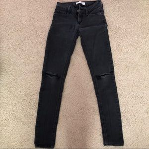 Pacsun black ripped skinny jeans
